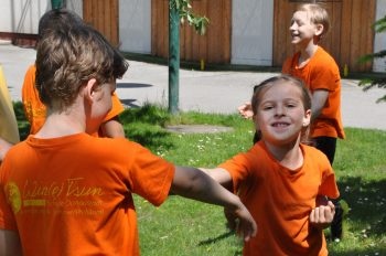 Kindertraining in der WTSD